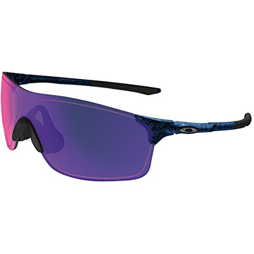Oakley Men's Evzero Pitch (a) Non-Polarized Iridium Rectangular Sunglasses, Planet x, 38 - Sunglass Planet