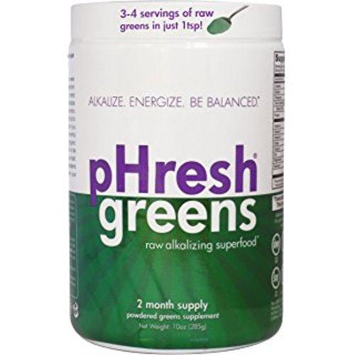 Phresh Greens 100% Raw Greens Powder 10oz Two Pack by pHresh greens