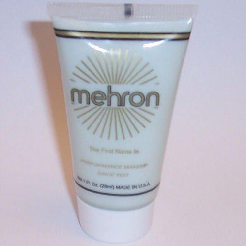 [(3) Moonlight White Water Base Cream Mehron Fantasy FX Makeup Face Paint] (Moonlight White Fantasy Fx Makeup)