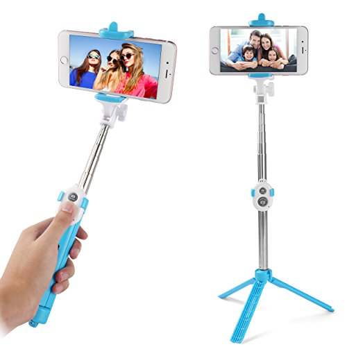 Sky Mobile Phone Holder and Monopod (Pink) - 7