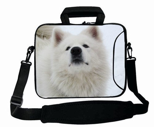 Protection Customized Series ( Animals dog white snow ) Shoulder Bag Good For Boy's (15