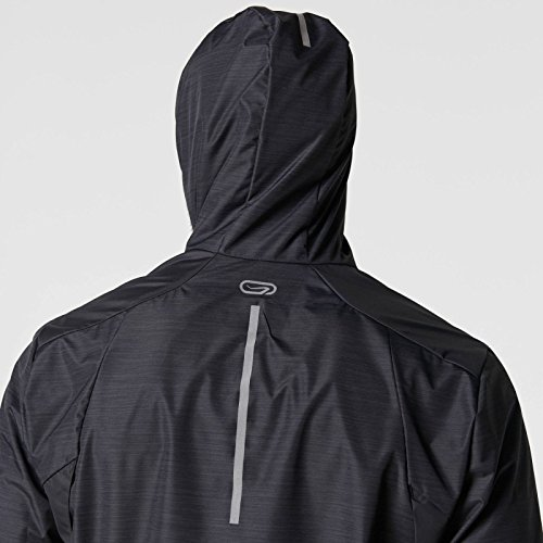 a740761c78df Buy Kalenji Run Rain Men s Running Jacket - Grey Online at Low Prices in  India - Amazon.in