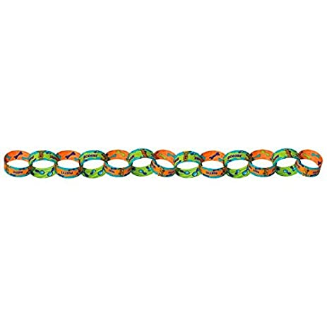 Amazoncom Amscan Awesome ScoobyDoo 50 Links Paper Chain Garland