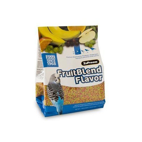 ZuPreem AvianMaintenance FruitBlend Bird Diet for Small Birds