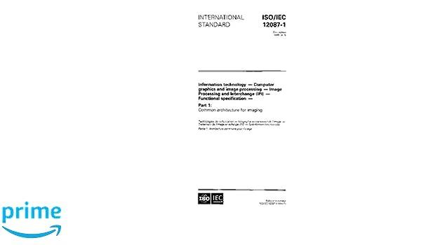 Amazon com: ISO/IEC 12087-1:1995, Information technology