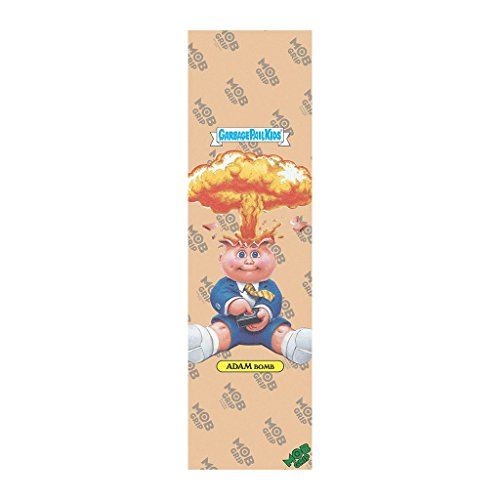 Mob Skateboard Griptape Garbage Pail Kids Clear Adam Bomb Grip Tape 9'' x 33'' by Mob