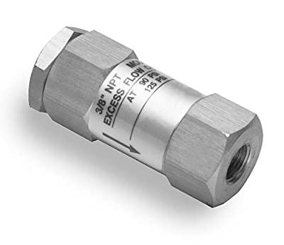 GuardAir 14H18 1/4-Inch NPT Excess Flow Check Valve by GuardAir Corporation