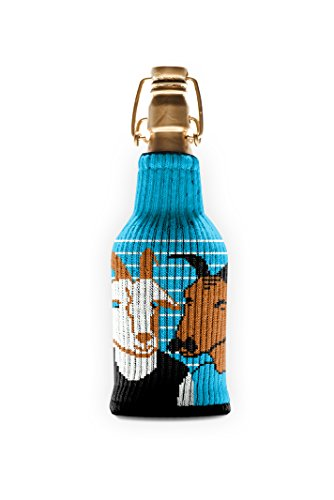 Hall & Goats Freaker - One Size Fits Every Bottle - Can Cozy / Bottle Insulator - Made in America (Makeup In The 1970s)