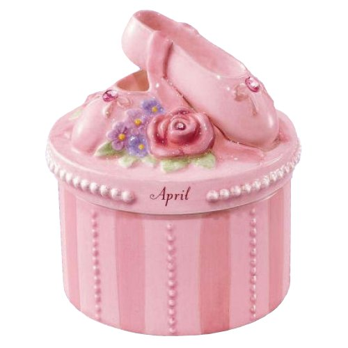 A Time to Dance Classics April Ballerina Trinket Box by ()