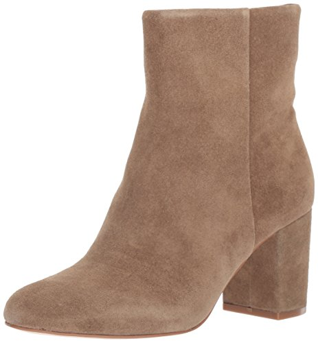 Opportunity Shoes - Corso Como Women's Perfecto Ankle Boot, Taupe Split Suede, 11 Medium US