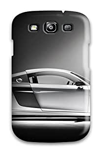 Jimmy E Aguirre's Shop 6073194K71717055 Premium Case With Scratch-resistant/ Audi R8 4 Case Cover For Galaxy S3