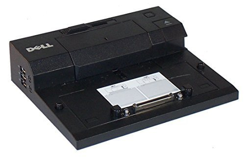 Dell Latitude E Series PR03X Docking Station E-Port With PA-4E 130 Watt AC adapter (Renewed) (Dell Latitude E Series Pr03x Docking Station)
