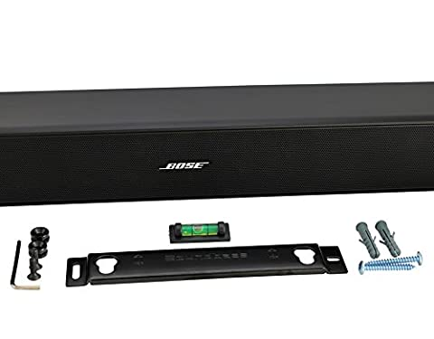 Wall Mount Kit For Bose Solo 5, CineMate 120 or SoundTouch 120 Sound Bars, Universal Soundbar Wall Mount Kit with Mounting, Designed In the UK by (Bar Speakers For Tv Boss)