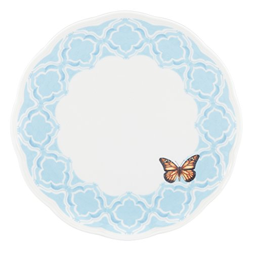 Lenox Butterfly Meadow Trellis Dinner Plate, Blue