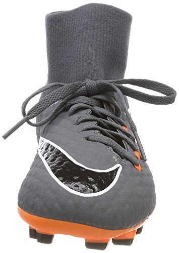 Kids' 081 Grey Df Oran Unisex 3 NIKE Multicolour Total Fg Shoes Dark Academy Hypervenom Jr Fitness Z5wTq7Y