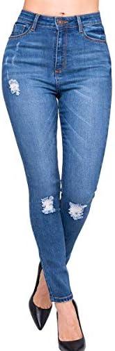 Pantalones Mujer Jeans Dama Colombiano Seven El Que sí Levanta 4174 STMO