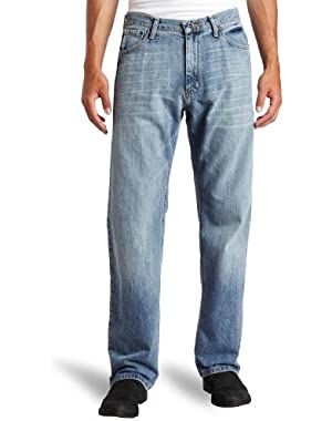 Jeans Men's Relaxed Light Hatch Jean, Hokline Blue, 34Wx34L