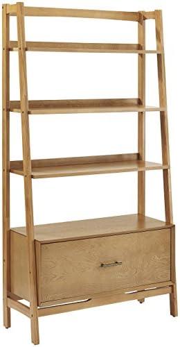 Crosley Furniture Landon Large Etagere Bookcase