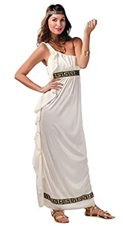 Robe blanche deesse grecque et romaine