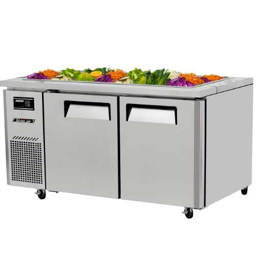 JBT60 15 cu. ft. J Series-Buffet Display Table with Side Mount Compressor Unit Efficient Refrigeration System Hot Gas Condensate System High Density PU Insulation and Adjustable Shelves: Stainless Steel ()