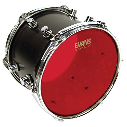 Evans Hydraulic Red Drum Head, 12