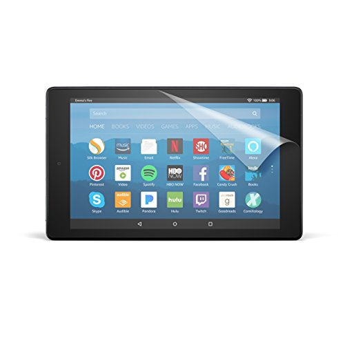 Review Of NuPro Anti-Glare Screen Protector for Amazon Fire HD 8 Tablet (7th and 8th Generation - 20...