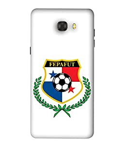 ColorKing Football Panama 10 White shell case cover for Samsung C7 Pro