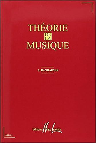 En ligne Théorie de la musique epub pdf