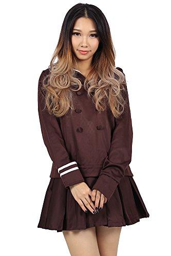 ICEMPs Ouran High School Host Club Fujioka Haruhi School Uniform V1 (Ouran Highschool Host Club Halloween Manga)