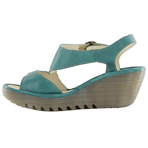 Mouche London Yanca Vert Femmes Sandales Taille 39 Eu