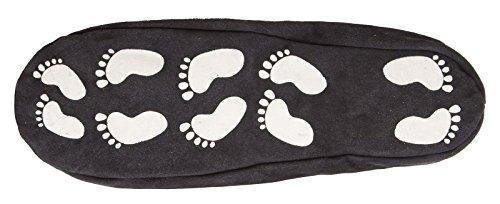 flauschigem und mit echtem Sohle Schurwollfutter aus mit Slipper rutschfester Leder q4Z8wqSv