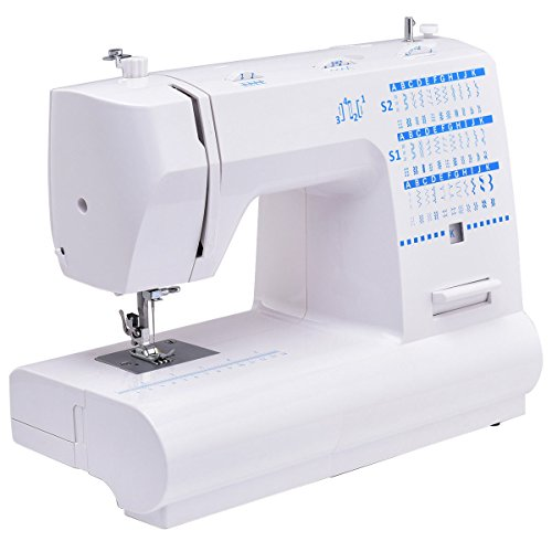 Costway Portable Sewing Machine Heavy Duty Automatic Threadi