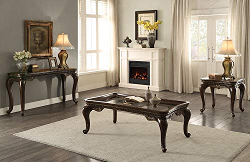 (Bonaventure Park Rectangular End Table in Cherry )
