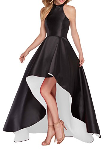 Black White Prom Dresses - 3