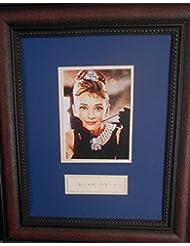 Audrey Hepburn autograph