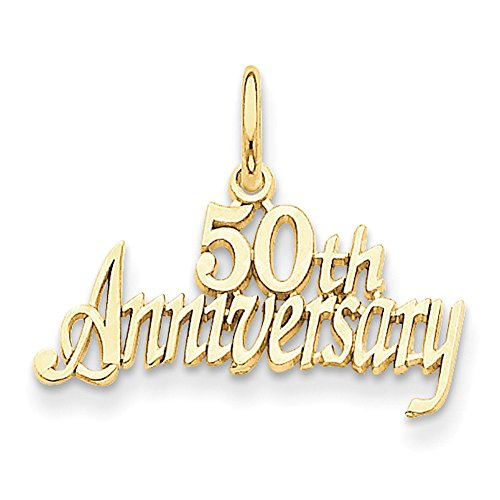 Gold 50th Anniversary Charm LAL73895-Prime ()