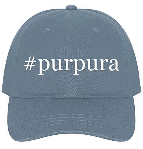 The Town Butler #Purpura - A Nice Comfortable Adjustable Hashtag Dad Hat Cap, Light Blue ()