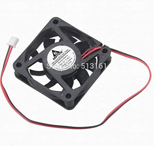 10pcs//lot Gdstime 2Pin 60mm 60X60x15mm 12V DC Brushless Cooling Fan 6cm Cooler