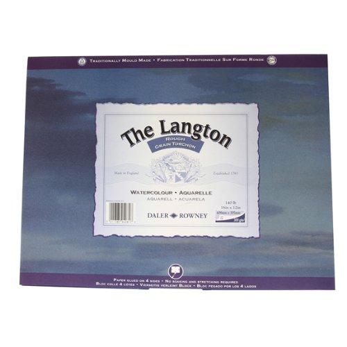 Daler Rowney Langton Aquarellblock, Grob, 16 x 12 B0027ISXTI | Luxus