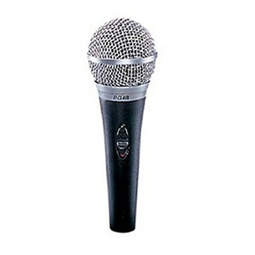 Shure PG48-LC Vocal Dynamic Microphone, Cardioid - Pg48 Performance Gear Vocal Microphone