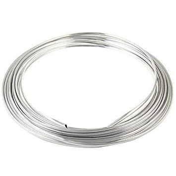 Protección Canto Puerta 2m en Plata para Coche - Perfiles en u Altamente Flexible - Cortable