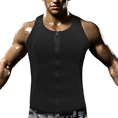 57d2c14da3 HOPLYNN Men Waist Trainer Vest for Weightloss