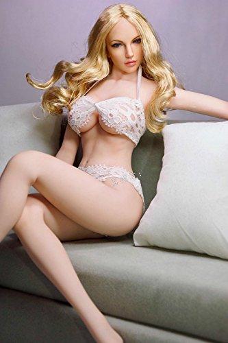 1/6 フィギュア 用 アクセサリー/ セクシー美人用 ホワイトブラ下着(素体とヘッドは含まりません)の商品画像