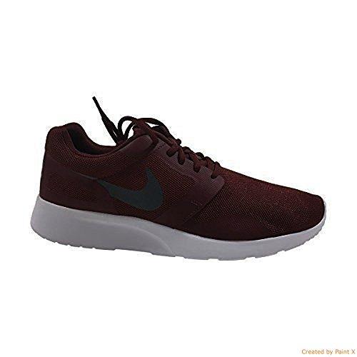 Nike Womens Kaishi Atletisk Sko Mørk Laget Rød / Mørk Grå-svart