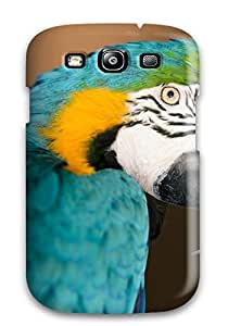 RUX-928gEuDuzSD CeciliaRipmanMadge Awesome Case Cover Compatible With Galaxy S3 - Macaw