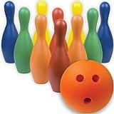 BSN Multi-Color Foam Bowling Pin Set w/Ball