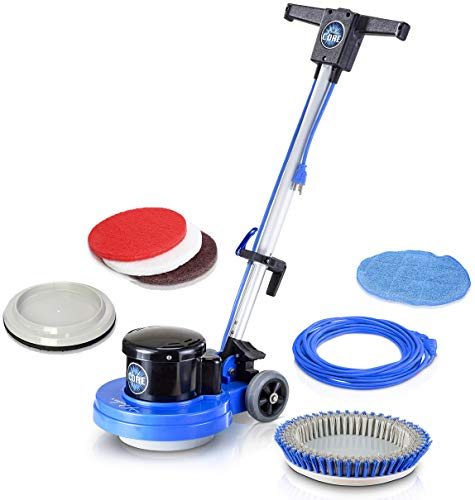 Prolux Core Floor Buffer - Heavy Duty Single Pad Commercial Polisher, Scrubber, and Sander