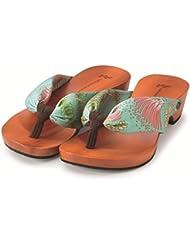 MIZUTORI Japanese Style Sandals Koha, Smoky Brown, 6 US Women