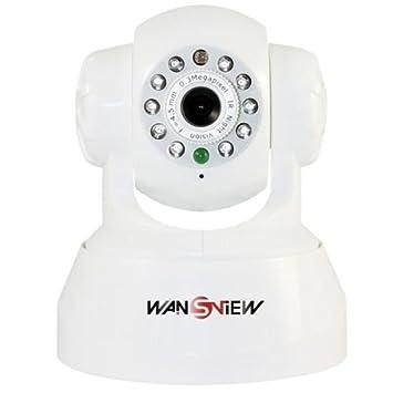 iClever® Wansview NZB-541W Funk Überwachunskamera, unterstützt WiFi ...