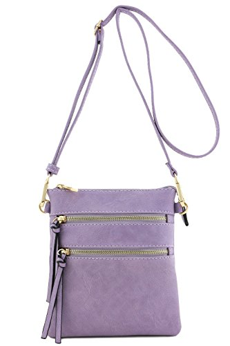 (Functional Multi Pocket Crossbody Bag)